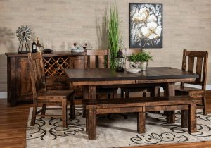 Houston Trestle Dining Room Collection