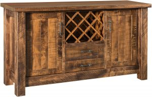 Houston Rustic Wine Server