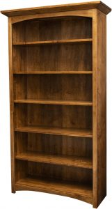Mission Arched Skirt Bookcase
