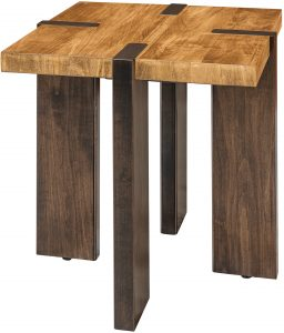 Olympic Two-Tone End Table