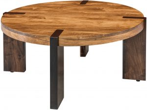Olympic Two-Tone Round Coffee Table