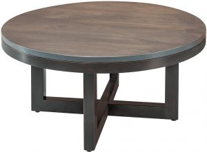 Xcell Two-Tone Round Coffee Table