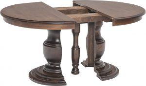 Ziglar Split Pedestal Table