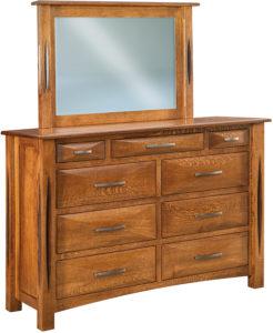 Ravena 9 Drawer Mule Dresser