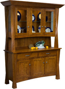Lexington 3-Door Hutch
