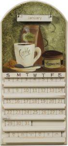 Coffee Perpetual Calendar