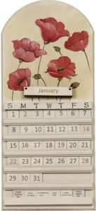 Flower Perpetual Calendar