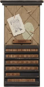 Note Holder Perpetual Calendar