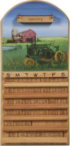 Tractor Perpetual Calendar