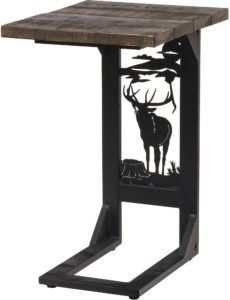 Rustic Elk Sofa Server