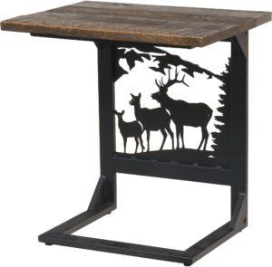 Rustic Elk Wide Sofa Server