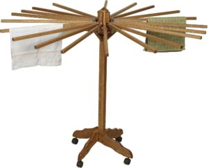 Drying Rack with Rolling Stand