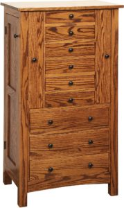 Flush Mission Jumbo Jewelry Armoire
