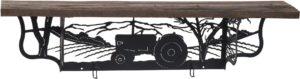 Rustic Tractor Wall Shelf