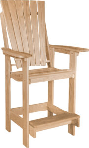 Cypress Euro Bar Chair