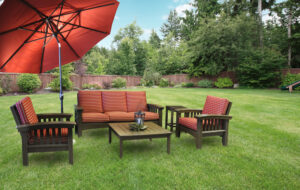 Poly Days End Patio Set