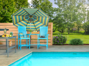 Cypress Poolside Patio Set