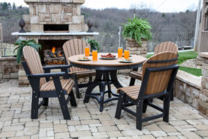 Round Patio Table Set