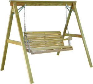 Treated Pine Grandpa Swing and Frame