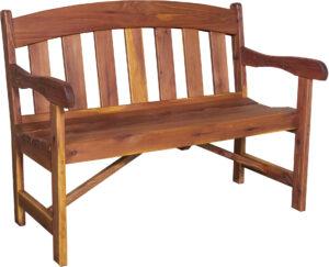 Arched Garden Bench