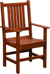 Cedar Patio Arm Chair