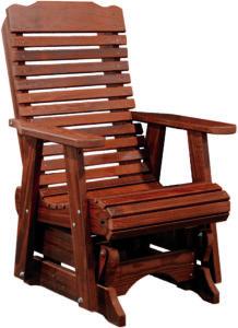 Contoured Glider Chair