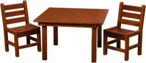 Kid's Patio Table Set