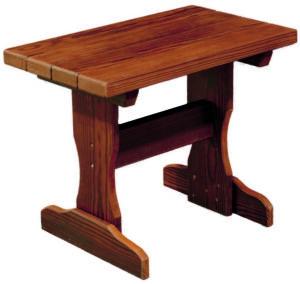 Cedar Outdoor End Table