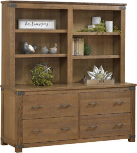 Georgetown Double Lateral File and Hutch
