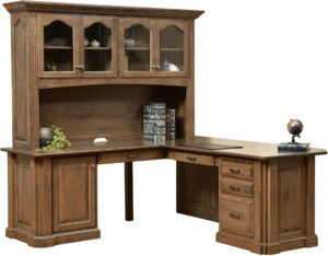 Signature Corner Desk and Hutch