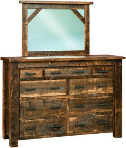 Portland 9-Drawer Mule Dresser