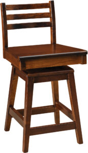 Maple City Swivel Seat Barstool