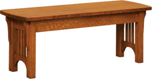 Craftsman Mission-Style Bench