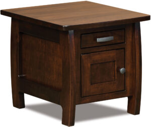 Grand Teton Cabinet End Table