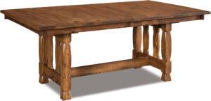 Rock Island Trestle Table