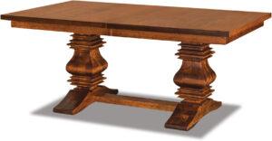 Scottville Double Pedestal Table