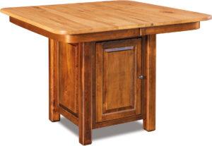 Shiloh Pub Cabinet Table