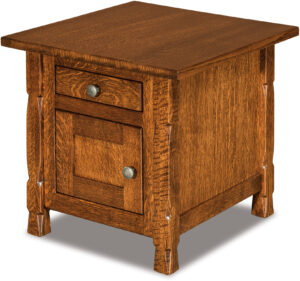 Rock Island Enclosed End Table