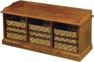 3-Basket Bench