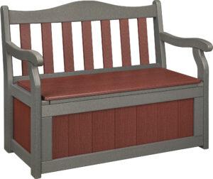 4' Polywood Garden Bench with Storage