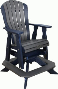 Bentback Counter Swivel Chair