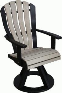 Bentback Swivel Chair