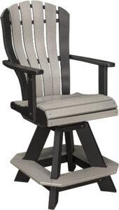 Bentback Swivel Counter Chair