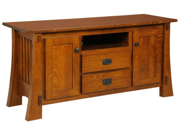 Amish Craftsman Mission TV Stand