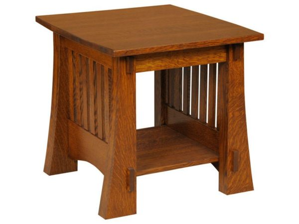 Amish Craftsman Mission End Table