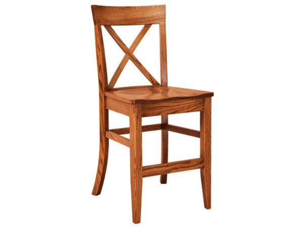 Amish Frontier Stationary Bar Stool