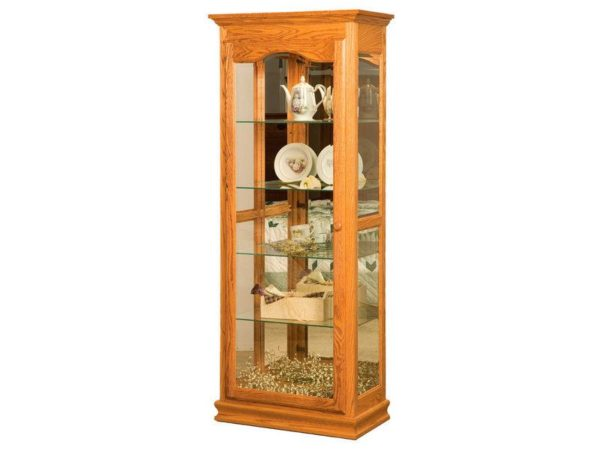 Amish Heritage Tall Curio