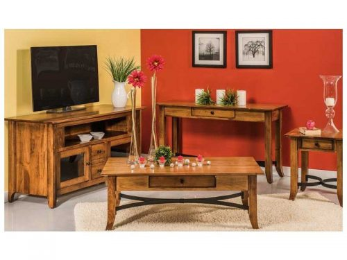 New Amish Furniture Designs Added Vanderbilt Living Room Set