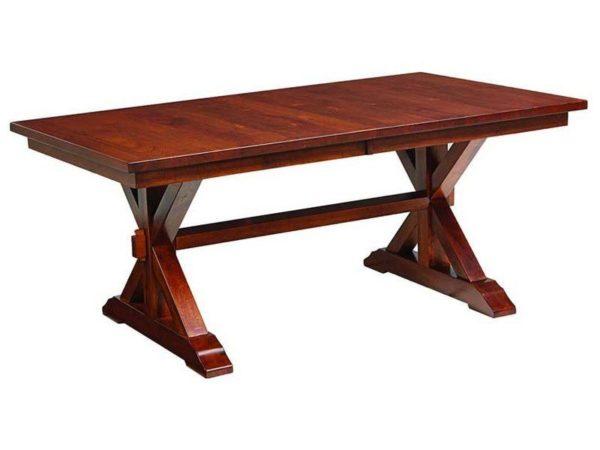 Amish Lebanon Trestle Table
