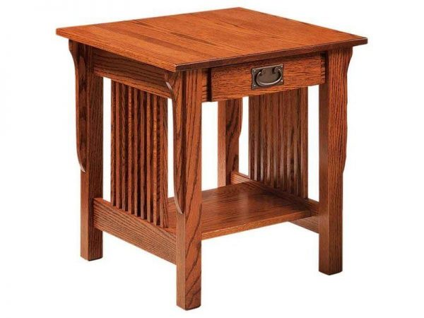 Amish Leah End Table